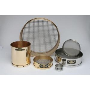 "8"" Coarse Mesh All Brass Sieves. Tyler"