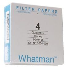 Whatman Filter Paper No.ᅠ4