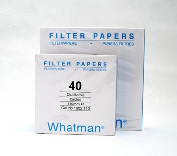 Whatman Filter Paper No. 40
