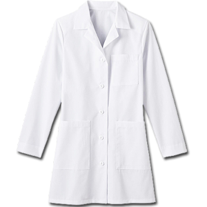"6150 Meta Ladies 35"" Labcoat. White Swan Brands"