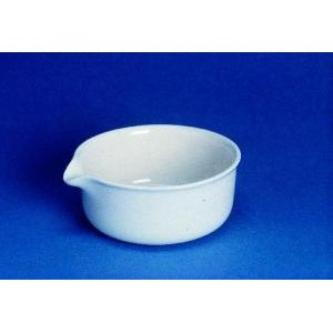 Vertical Side Shallow Form Evaporating Dish. CoorsTek