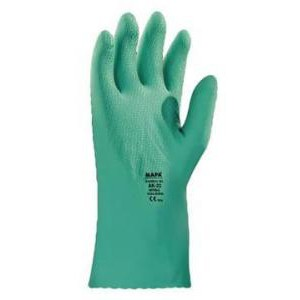 Stansolv® AK-22 Knit-Lined Medium-Weight Nitrile Gloves. MAPA Spontex