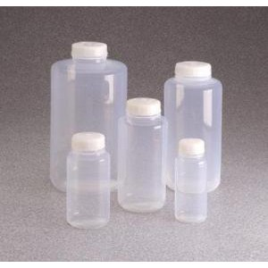 Wide-Mouth Bottle PTFE, FEP. Nalgene