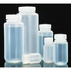 Wide-Mouth Bottle, Polypropylene. Nalgene