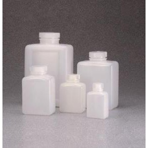 Rectangular Bottle, HDPE. Nalgene