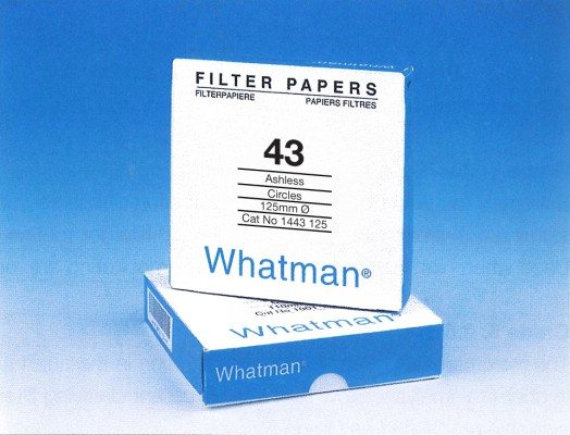 Whatman Filter Paper No. 43