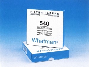 Whatman Filter Paper No. 540