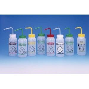 Safety-Vented Labeled Wash Bottles