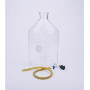 KIMAX® Reservoir Bottle w/Valved Outlet & Detachable Quick Release Connector