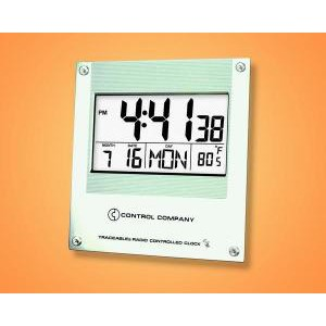 Traceable® Digital Radio Atomic Wall Clock