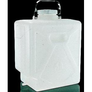 Rectangular HDPE Graduated Carboys with Tubulation. Nalgene