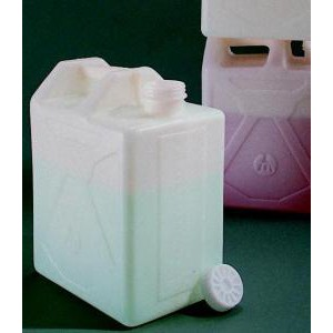 Stackable Graduated Rectangular Carboy, HDPE. Nalgene
