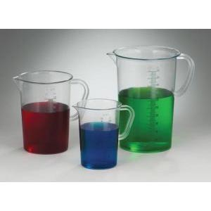 Graduated Pitchers, Polymethylpentene