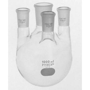 PYREX® Four Vertical Neck Distilling Flasks