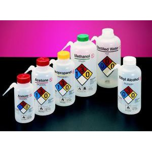 Vented Unitary Safety Wash Bottles