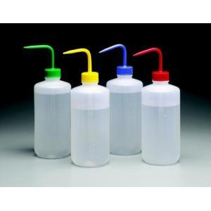 LDPE Color-Coded Wash Bottles