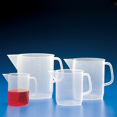 Pitcher, PP, Molded Graduations