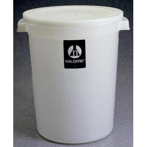 Large Round HDPE Containers with Cover