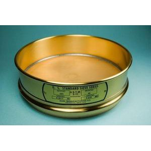 "8"" All Brass Sieves, Full Height"