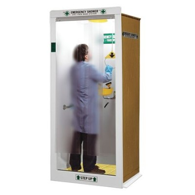 Emergency Shower Decontamination Booth