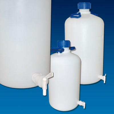 Carboy with Spigot, HDPE, Spigot Included