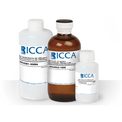 SILVER-AAS 1000PPM IN HNO3, Ricca Chemical