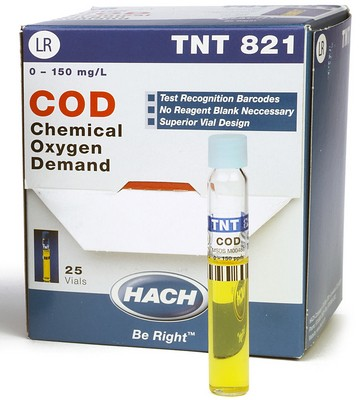 Chemical Oxygen Demand (COD) TNTplus Vial Test, LR (3-150 mg/L COD)