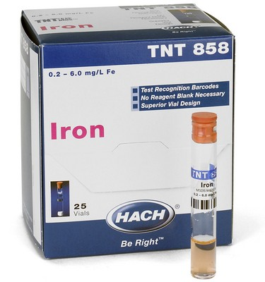 Iron TNTplus Vial Test (0.2-6.0 mg/L Fe)