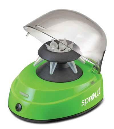 Sprout® Mini-Centrifuge 100-240VAC, 50/60Hz Universal Plug, Green