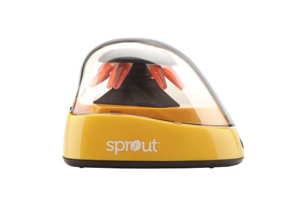 Sprout® Mini-Centrifuge 100-240VAC, 50/60Hz Universal Plug, Yellow