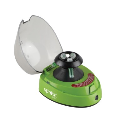 Sprout® Plus Mini-Centrifuge 100-240VAC, 50/60Hz Universal Plug, Green