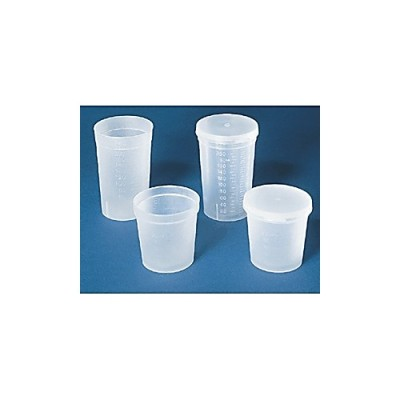 Polypropylene Disposable All-Purpose Specimen Container without Lid