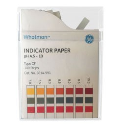 Type CF Wide Range pH Test Strips with Colorimetric Chart
