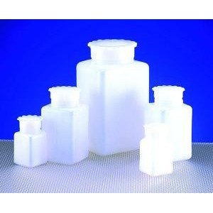 Graduated Rectangular HDPE Bottles