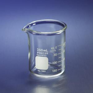 Heavy Duty Graduated Griffin Beakers. Pyrex