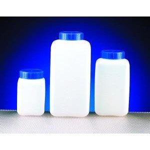 Graduated Rectangular HDPE Bottles -