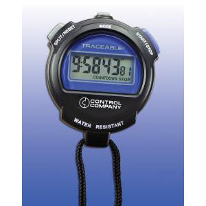 Precision 10-Hour Stopwatch. NIST Traceable®