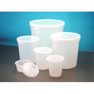 HDPE Disposable Specimen Containers