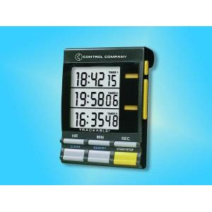 Traceable® Jumbo Triple-Display Timer