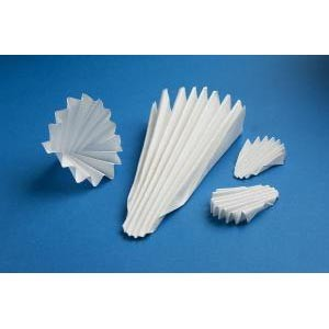 Ahlstrom 542 Medium Flow Rate Pre-Pleated Filter Paper