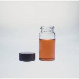 KIMBLE® Small Glass Dram Vials with Rubber Lined Closures, Unattached