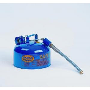 Type-II Galvanized Steel Safety Cans with Spout. Eagle