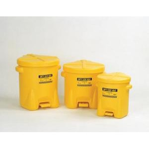 Polyethylene Oily Waste Cans. Eagle