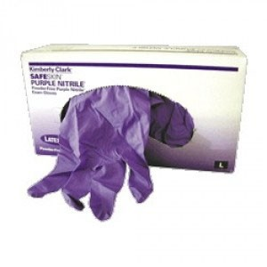 Safeskin® Large Purple Nitrile Exam Gloves
