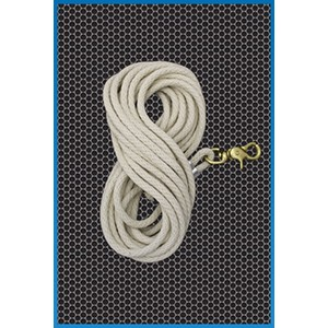 OIL THIEF ROPE, 25' WITH BRASS SWIVEL SNAP
