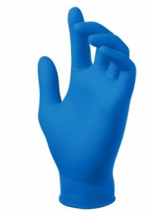 TrueForm Royal Blue Textured Nitrile Gloves