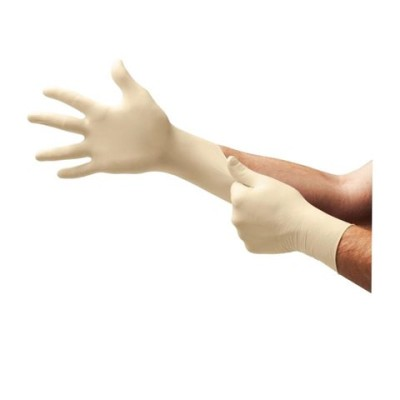 L93 A+ Powder-Free Latex Gloves w/ Aloe