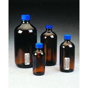 I-Chem® Boston-Round Amber Glass Environmental Sample Bottles