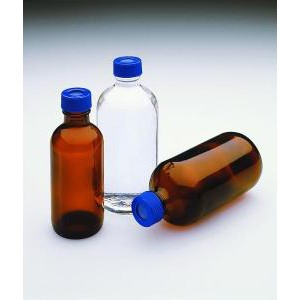 I-Chem® VOC Narrow-Mouth Glass Septa Bottles
