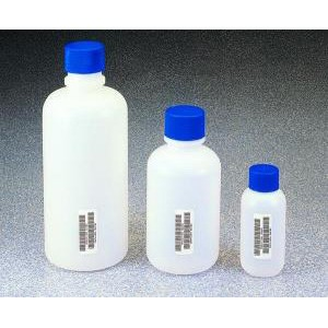 I-Chem® HDPE Boston Round Bottles for Metals Analysis